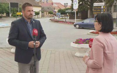 Gradonačelnik Mandarić gostovao u Dnevniku Nove TV