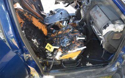 U Đakovu se zapalio parkirani osobni automobil