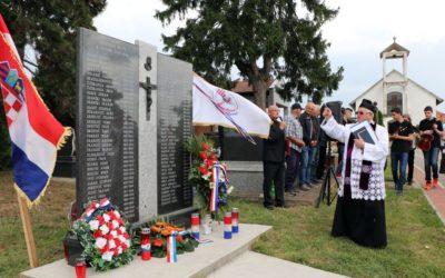 Otkriveno spomen-obilježje prešućenim žrtvama Selaca Đakovačkih u Drugom svjetskom ratu