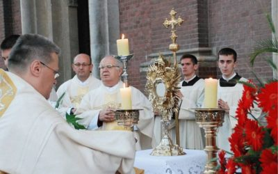 Svečano proslavljena svetkovina Presvetog Tijela i Krvi Kristove