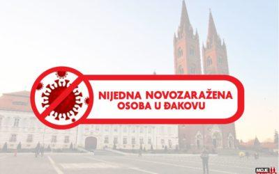 Danas bez novooboljelih osoba u Đakovu