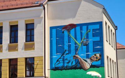 Na Nazorovoj školi osvanuo mural u čast Ivana Pavića