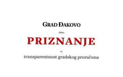 Institut za javne financije ocijenio Grad Đakovo