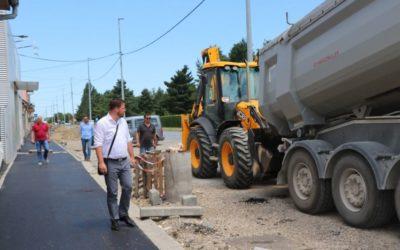 Gradonačelnik Mandarić obišao radove na izgradnji novih staza