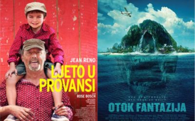 U kinu: Ljeto u Provansi i Otok Fantazija