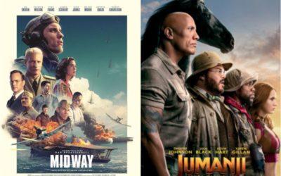 U kinu: Bitka za Midway i Jumanji: Iduća razina