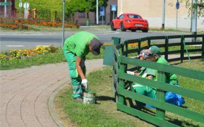 Komunalni radnici uređuju Park Ivana Pavića