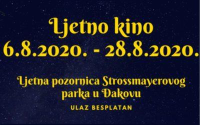 Ljetno kino u Strossmayerovom parku