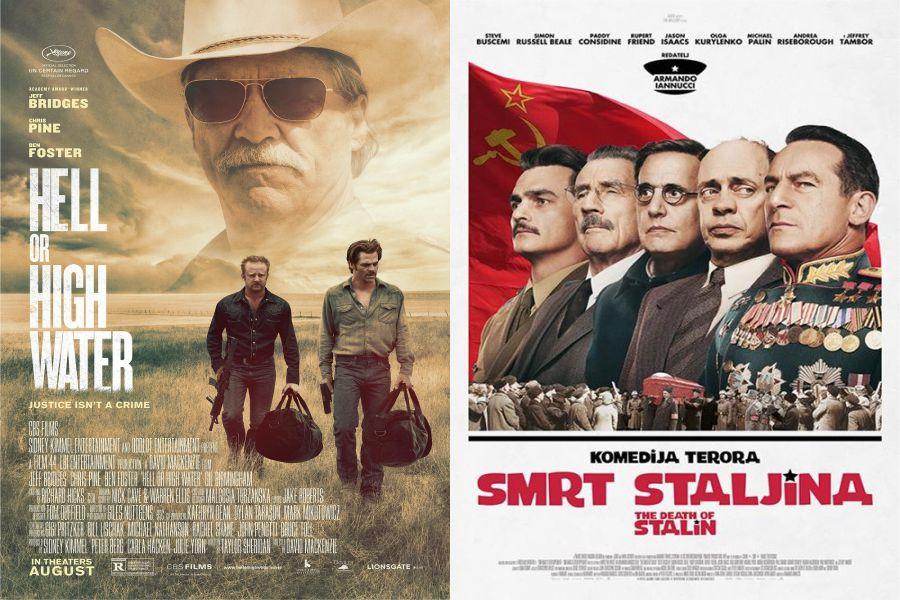 Ljetno kino ide dalje, a ovaj tjedan u Strossmayerovom parku u četvrtak i petak prikazat će se filmovi Sve ili ništa i Smrt Staljina.