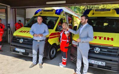 Uručena nova vozila za hitnu medicinsku pomoć u Đakovu