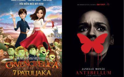 U kinu: Crvencipelica i 7 patuljaka i Antebellum