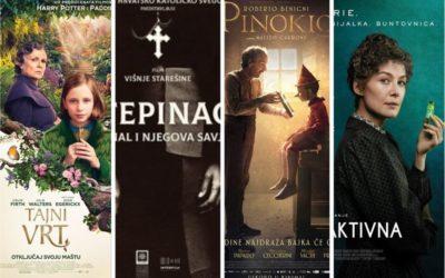 U kinu: Tajni vrt, Stepinac: Kardinal i njegova savjest, Pinokio i Radioaktivna