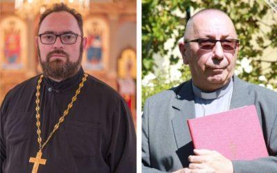 Čestitka đakovačkih biskupa mons. Milanu Stipiću i mons. Slavku Večerinu