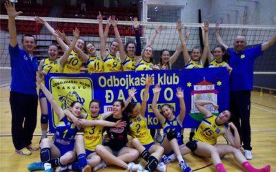 Đakovačke odbojkašice odlaze na državno prvenstvo