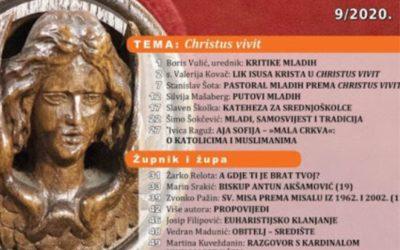 "Rujanski ""Vjesnik"" na temu ""Christus vivit"""