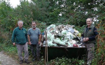 U Zelenoj čistki na području Grada Đakova prikupljeno 7476 kg otpada