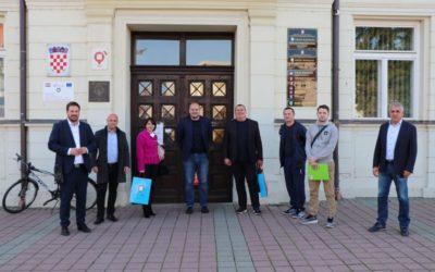Gradonačelnik ugostio predsjednika i suradnike Hrvatskog odbojkaškog saveza