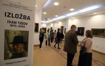Otvorene dvije izložbe povodom 150. obljetnice rođenja Ivana Tišova