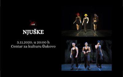 Predstava: Njuške, gostovanje Teatra EXIT