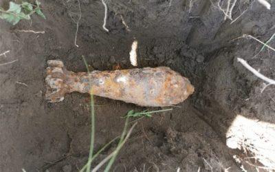Iskopao minobacačku granatu