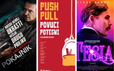 U kinu: Pokajnik, Povuci-potegni i Tesla