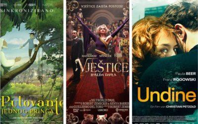 U kinu: Putovanje jednog, princa, Vještice Roalda Dahla i Undine