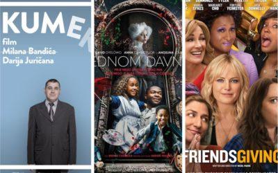 U kinu: Kumek, Jednom davno i Klopa, cuga i luđaci