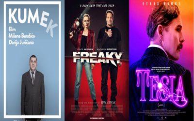 U kinu: Kumek, Freaky, Tesla