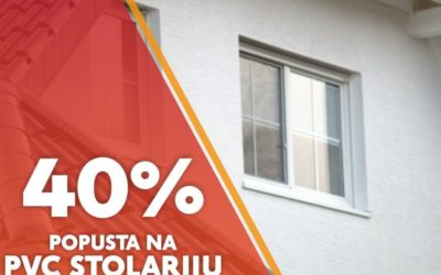 Energa Đakovo: 40% popusta na PVC stolariju