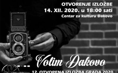 U ponedjeljak otvorenje izložbe Volim Đakovo