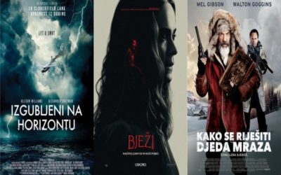 U kinu: Izgubljeni na horizontu, Bježi, Kako se riješiti Djeda Mraza