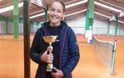 Dora Belvanović druga hrvatska tenisačica do 12 godina!
