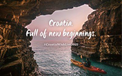 """Hrvatska turistička zajednica pokrenula je novu promotivnu kampanju """"Croatia Full of New Beginnings"""""""