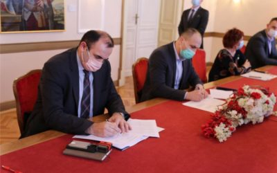 U Županiji potpisan ugovor o izgradnji Regionalnog distribucijskog centra za voće i povrće