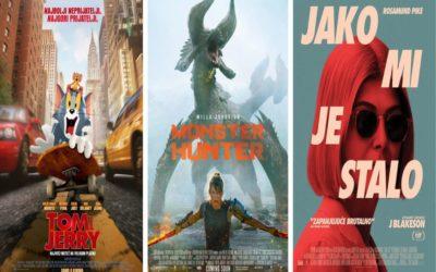 U kinu: Tom i Jerry, Monster Hunter i Jako mi je stalo
