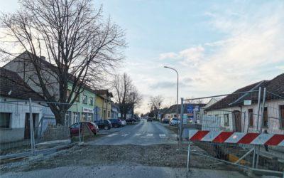 Radovi na križanju Pašinog prolaza i Ulice Ante Starčevića