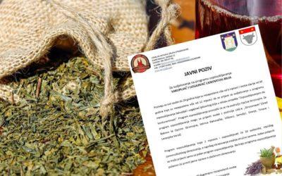"""Javni poziv za sudjelovanje u programu osposobljavanja za zanimanje """"Sakupljač i uzgajivač ljekovitog bilja"""""""