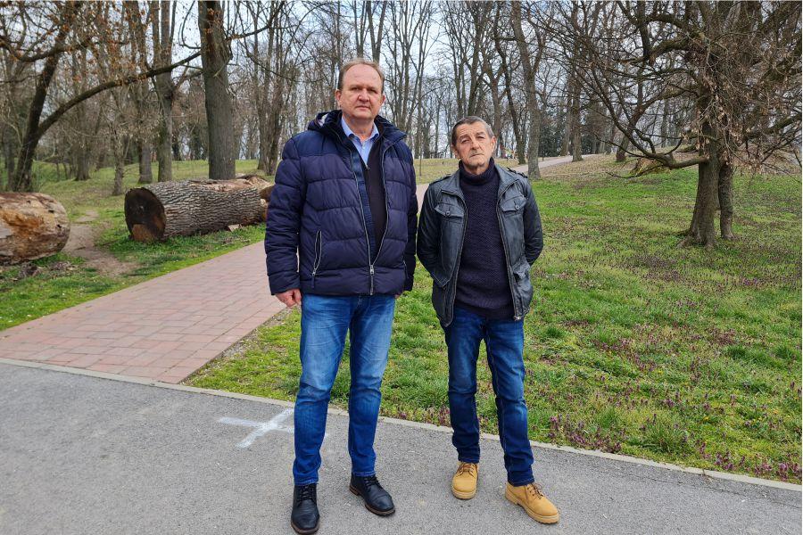 Tihomir Mihalj i Zlatko Mezeji, Foto: Moje Đakovo