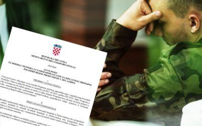 Ministarstvo hrvatskih branitelja objavilo dva Javna poziva za branitelje