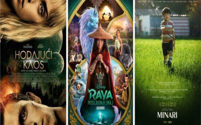 U kinu: Raya i posljednji zmaj, Hodajući kaos i Minari