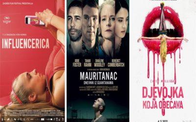 U kinu: Influencerica, Mauritanac: Dnevnik iz Guantanama i Djevojka koja obećava