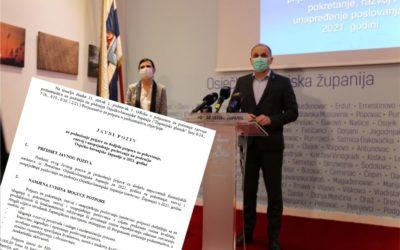 Županija odobrila 3 milijuna kuna za poticanje poduzetništva, u pripremi još 6 javnih poziva