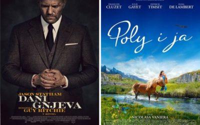 """U kinu: """"Dani gnjeva"""" i """"Poly i ja"""""""