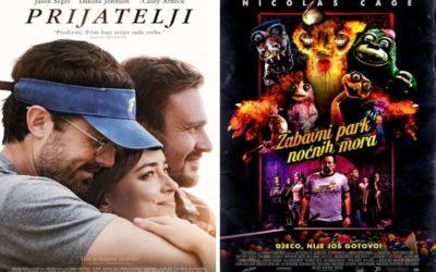 U kinu: Prijatelji i Zabavni park noćnih mora