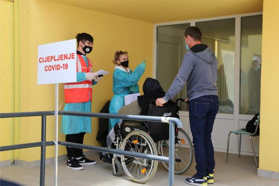Cijepljenje u Đakovu, Foto: Osječko-baranjska županija