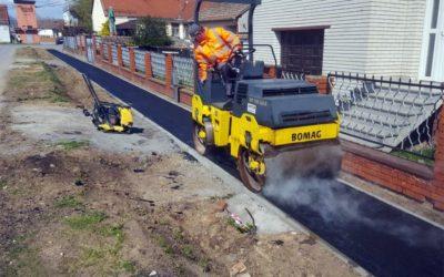 Traju radovi na izgradnji pješačkih staza u Kuševcu