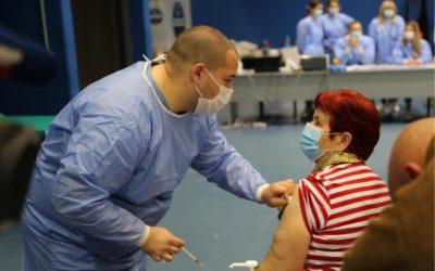 U Osijeku otvoreni punktovi za masovno cijepljenje