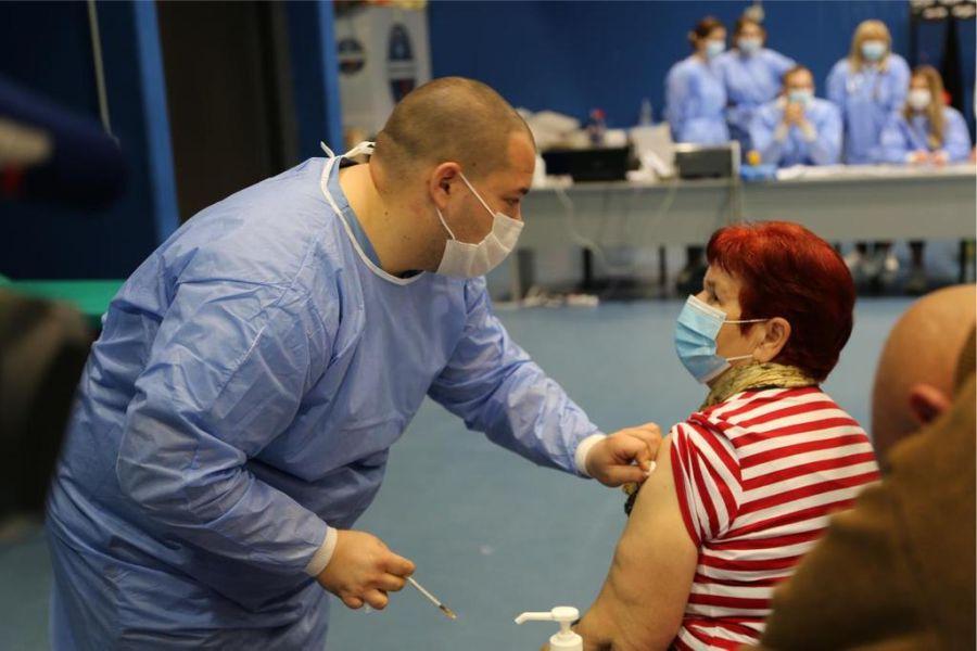 Masovno cijepljenje, Foto: Osječko-baranjska županija