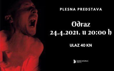 """Plesna predstava """"Odraz"""" u Centru za kulturu"""