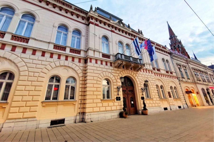 Zgrada OBŽ, Foto: Osijek in